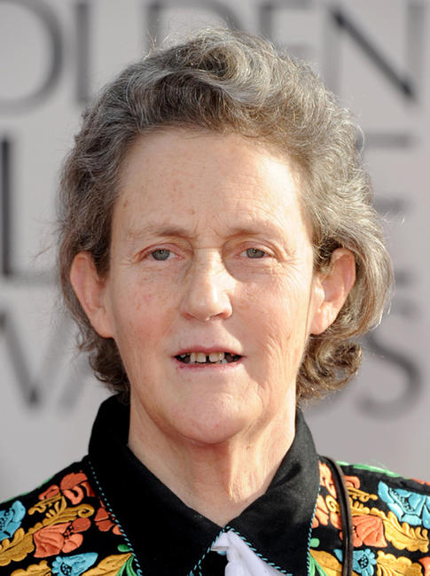 Temple Grandin at the 68th Annual Golden Globe Awards.