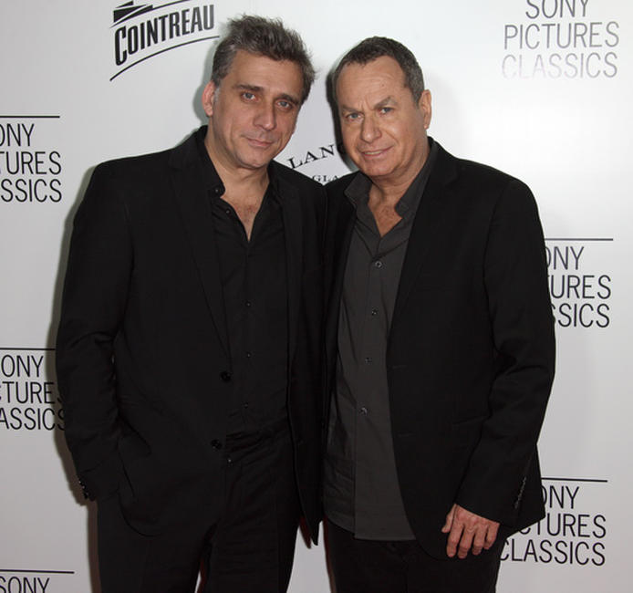 Lior Ashkenazi and Shlomo Bar Aba at the Sony Pictures Classics' 2012 Oscar Dinner in California.