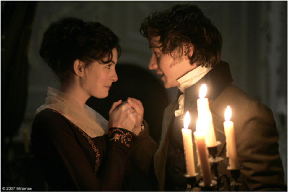 Anne Hathaway and James McAvoy in
