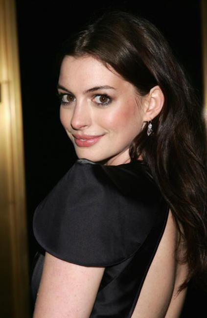 Anne Hathaway at The Fashion Group International's 23rd Annual Night Of Stars.