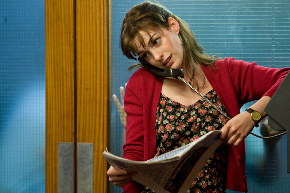 Anne Hathaway as Emma Morley in