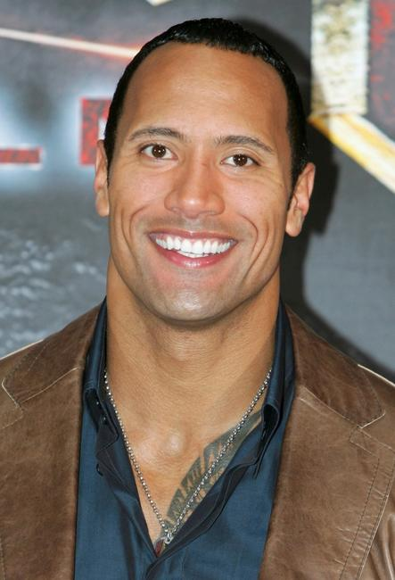 The Rock at Berlin for the photocall of