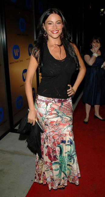 Sofia Vergara at the Warner Music Group 2006 Grammy After Party.