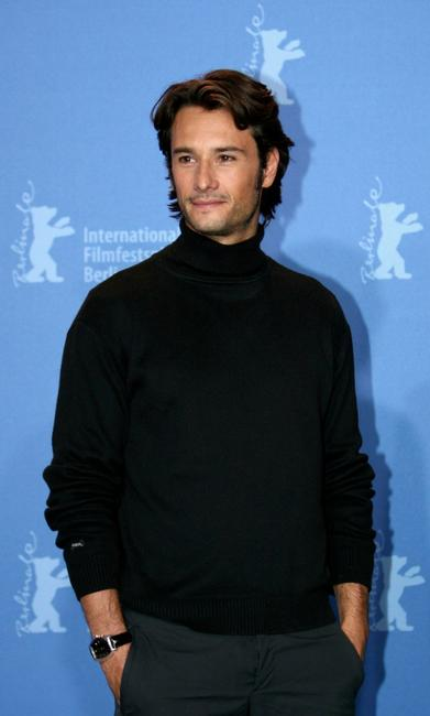 Rodrigo Santoro at the press conference of