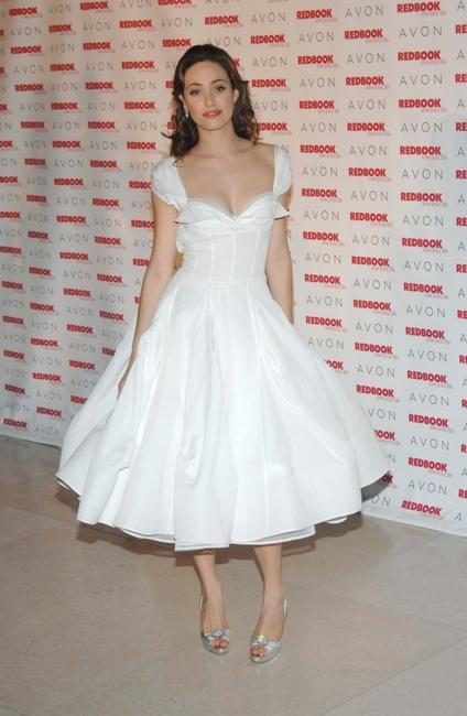 Emmy Rossum at the Redbook's 2007 Strength and Spirit Awards.