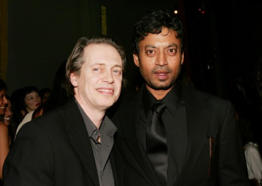 Steve Buscemi and Irfan Khan at the after party of the New York premiere of