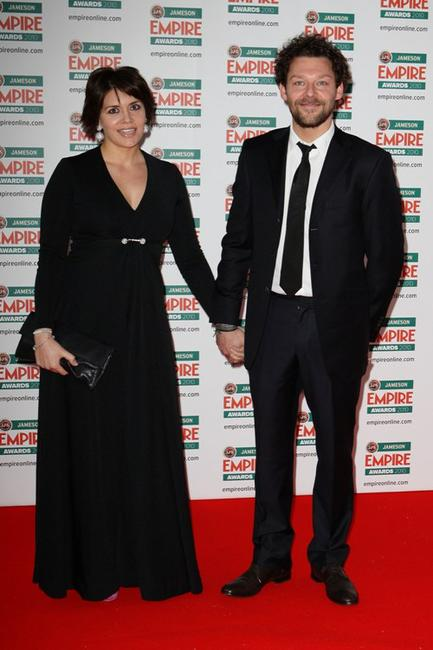 Georgia MacKenzie and Richard Coyle at the Jameson Empire Film Awards.