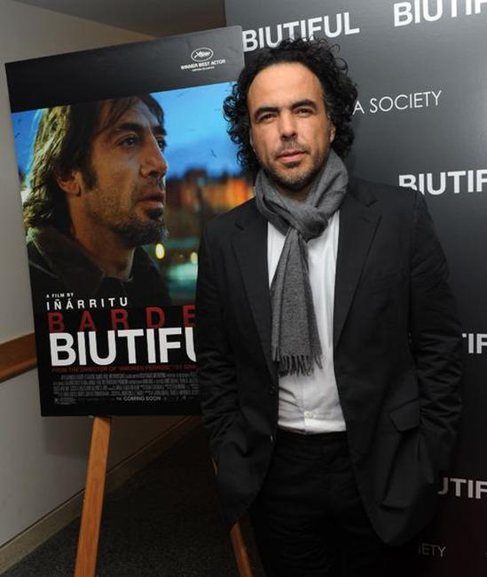 Alejandro Gonzalez Inarritu at the screening of