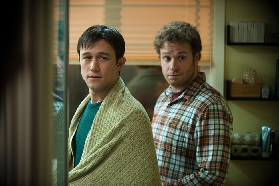 Joseph Gordon-Levitt and Seth Rogen in