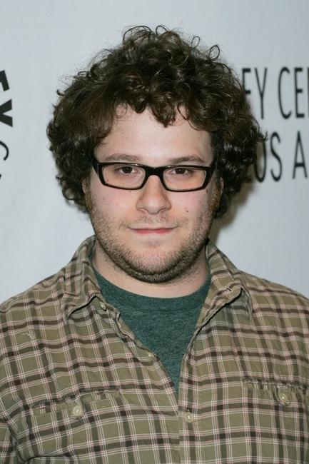 Seth Rogen at the Comedy World of Judd Apatow.
