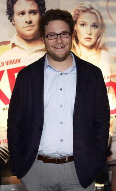 Seth Rogen at the Australian premiere of