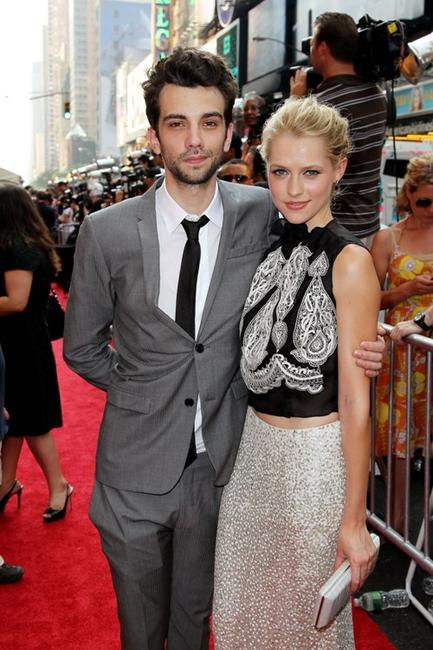 Jay Baruchel and Teresa Palmer at the world premiere of