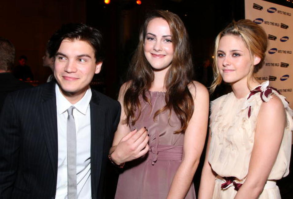 Emile Hirsch, Jena Malone and Kristen Stewart at the Los Angeles premiere of