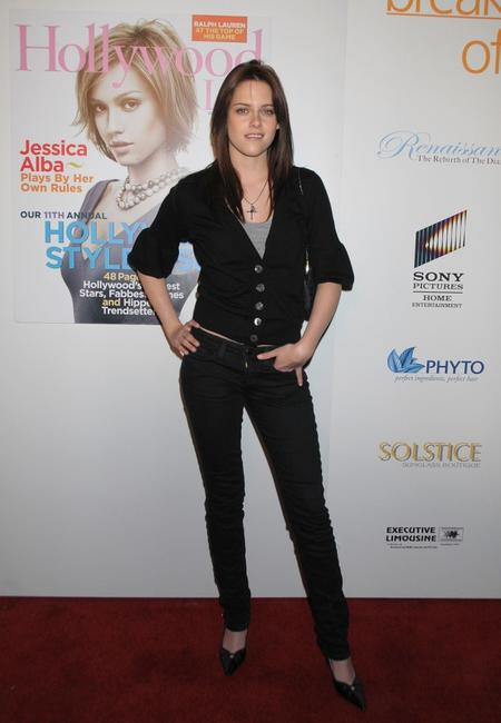 Kristen Stewart at the 7th Annual Breakthrough Of The Year Awards.
