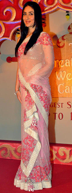 Kareena Kapoor at the launch party of The Great Indian Wedding Carnivala.