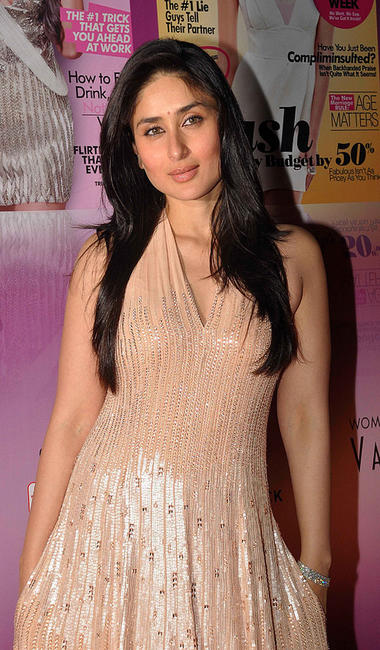 Kareena Kapoor at the Cosmopolitan Fun Fearless Female Awards in Mumbai.