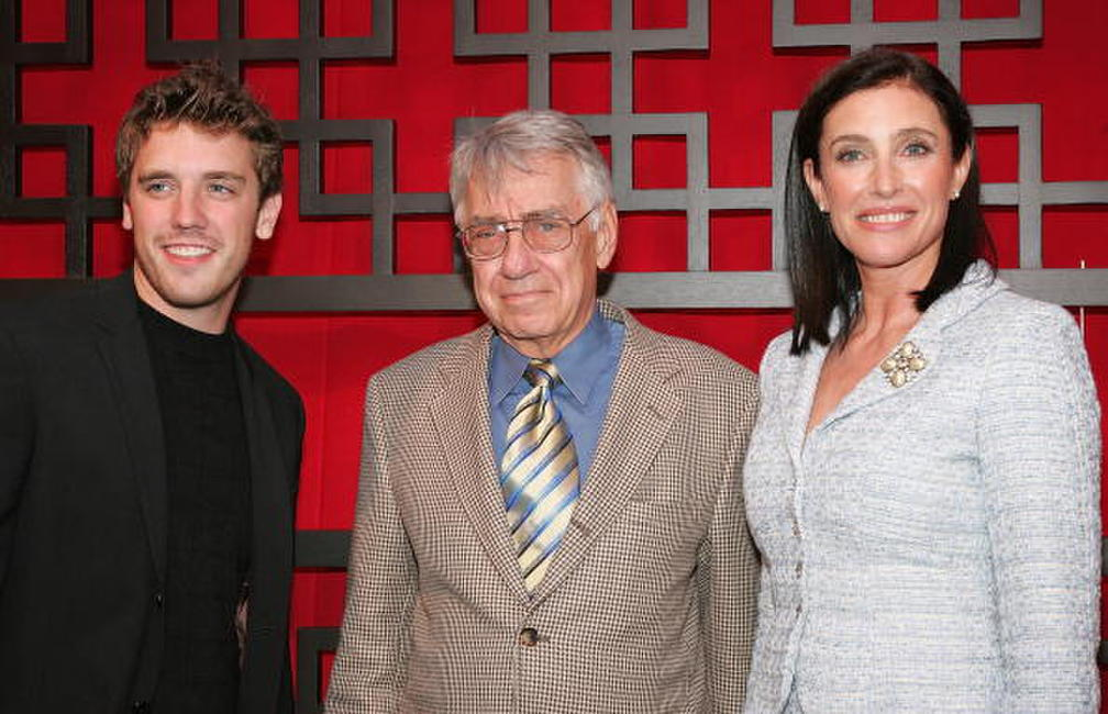 Philip Baker Hall, Bret Harrison and Mimi Rogers at the FOX Broadcasting Company Upfront.