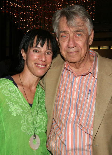 Philip Baker Hall and Nic Bettauer at the 20th Anniversary of the WIFF Film Finishing Fund.