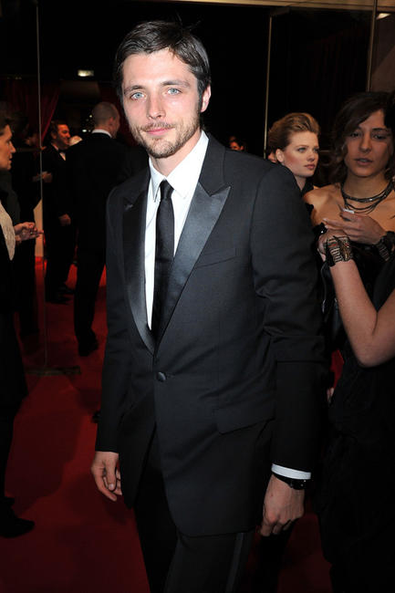 Raphael Personnaz at the 36th Cesar Film Awards in France.