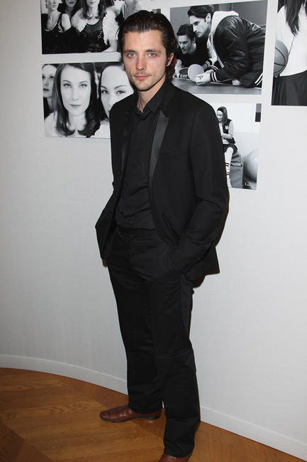 Raphael Personnaz at the Chaumet's Cocktail party and Dinner for Cesar's Revelations 2011 in France.