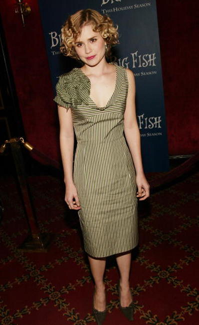 Alison Lohman at the N.Y. premiere of