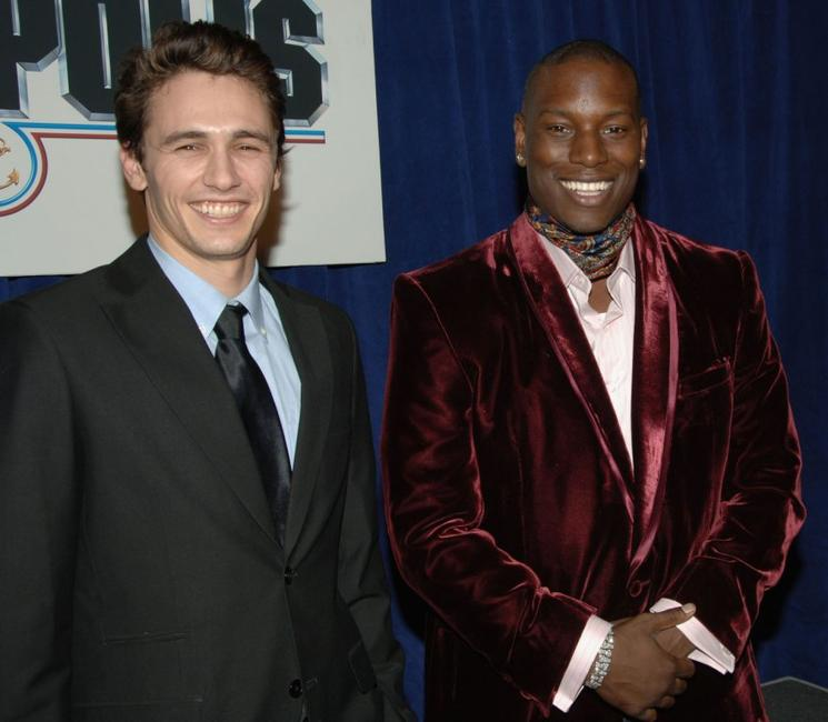 James Franco and Tyrese Gibson at the premiere of