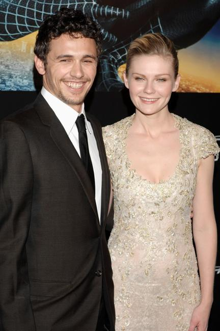 James Franco and Kirsten Dunst at the premiere of
