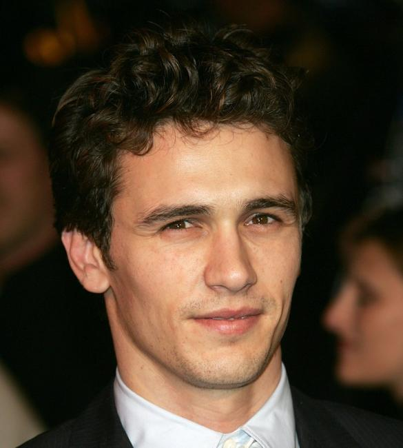 James Franco at the Vanity Fair Oscar party.