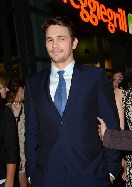 James Franco at the California premiere of