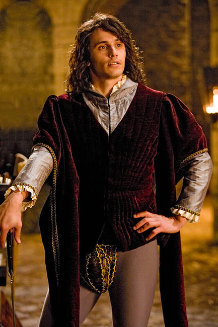 James Franco as Prince Fabious in