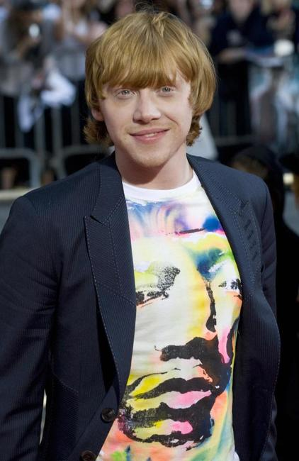 Rupert Grint at the New York premiere of
