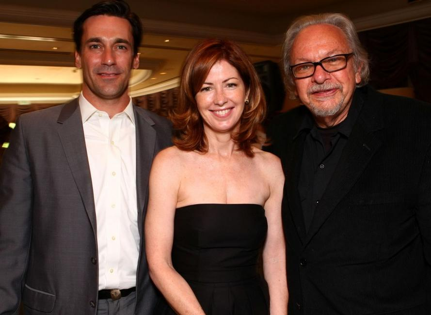 Jon Hamm, Dana Delany and Dean at the Hollywood Foreign Press Associations annual summer luncheon.