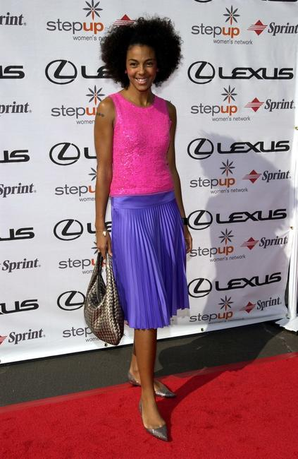 Marsha Thomason at the Step-Up Women's Networks Fourth Annual Fashion Forward Luncheon.