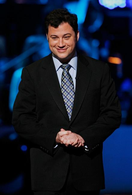 Jimmy Kimmel at the taping of Idol Gives Back.