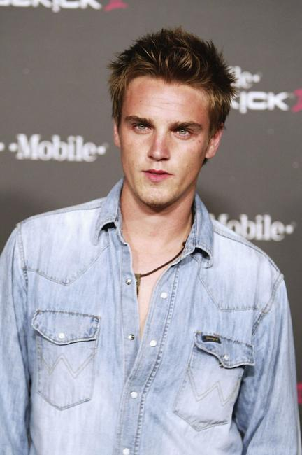 Riley Smith at the T-Mobile Sidekick II Launch party.
