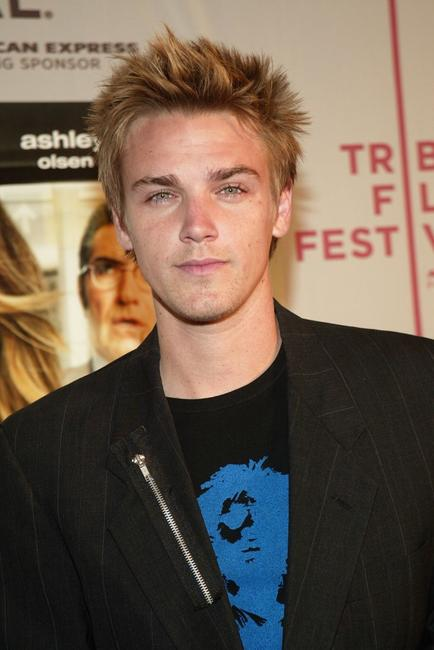 Riley Smith at the gala premiere of