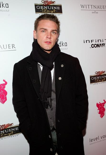 Riley Smith at the premiere party of