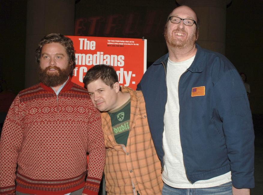Zach Galifianakis, Patton Oswalt and Brian Posehn at the special screening of