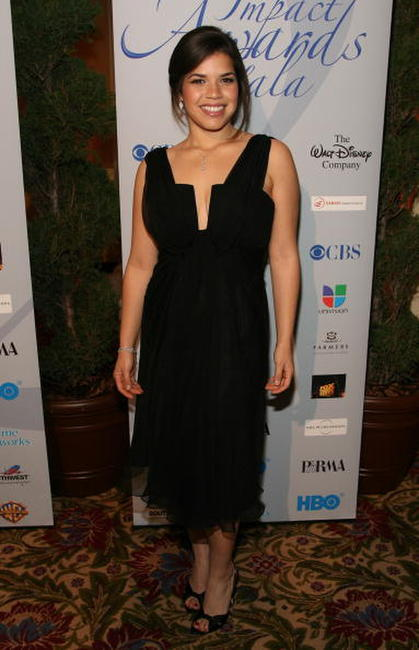 America Ferrera at The National Hispanic Media Coalition's 10th Annual Impact Awards Gala in Beverly Hills, California.