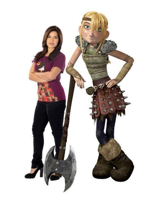 America Ferrera voices Astrid in