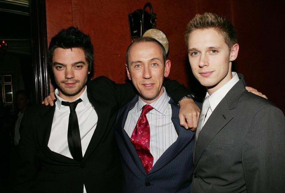 Dominic Cooper, Nicholas Hytner and Samuel Barnett at the after party of the special screening of