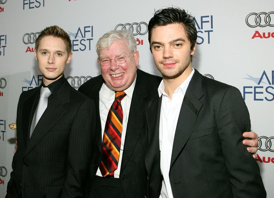 Samuel Anderson, Richard Griffiths and Dominic Cooper at the North American premiere of