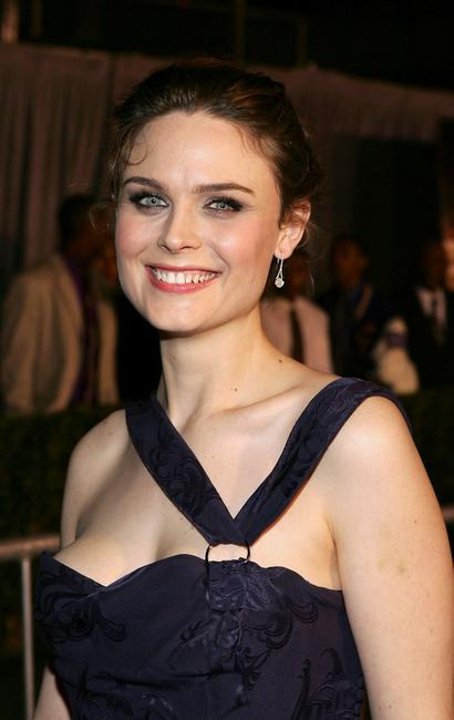 Emily Deschanel at the premiere of