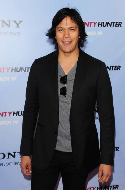 Chaske Spencer at the premiere of