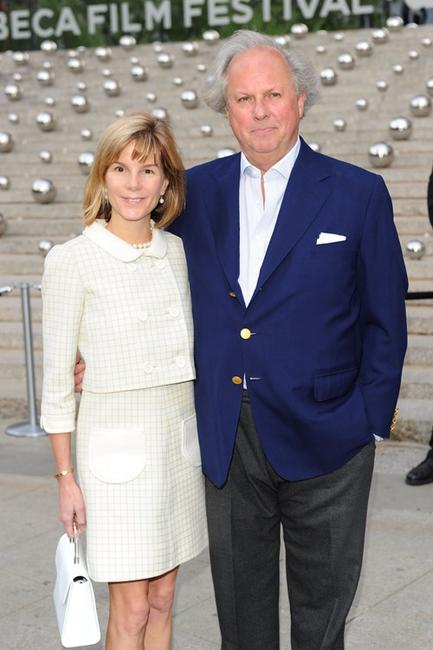 Anna Carter and Graydon Carter at the 2010 Tribeca Film Festival.
