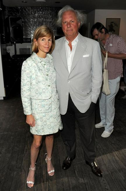 Anna Carter and Graydon Carter at the Stella McCartney - Spring 2011 Presentation.