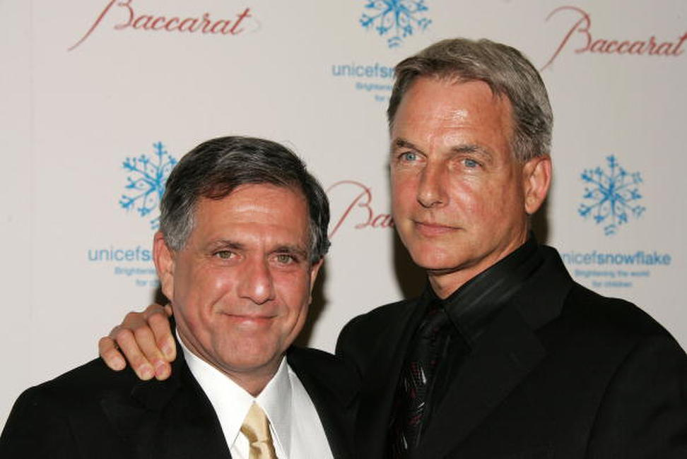 Mark Harmon and Leslie Moonves at the first annual UNICEF Snowflake Ball.