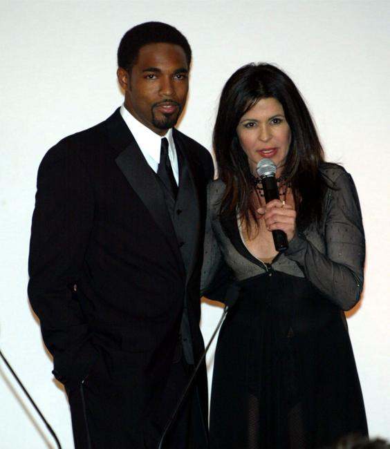 Jason Winston George and Maria Conchita Alonso at the 11th annual Diversity Awards.