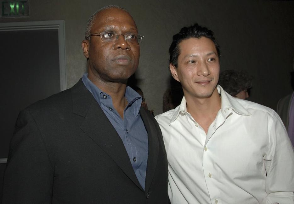 Andre Braugher and Will Yun Lee at the after party of the premiere screening of
