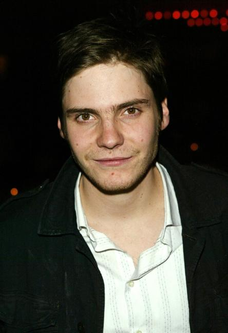 Daniel Bruhl at the cocktail reception for the New York premiere of